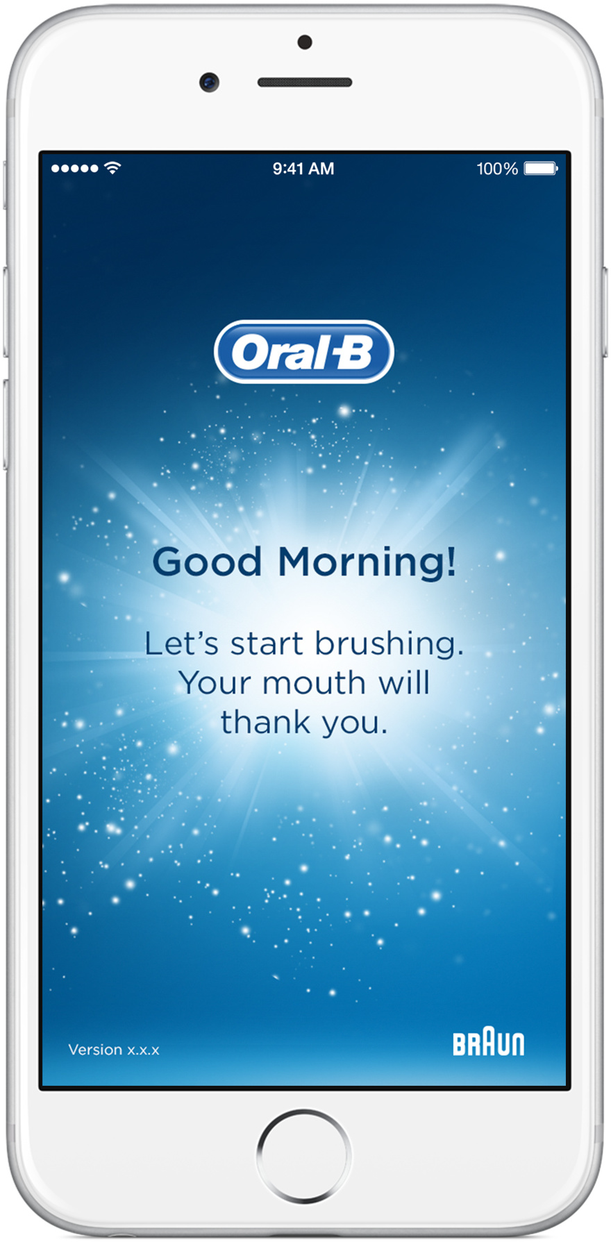 Oral-B app Start