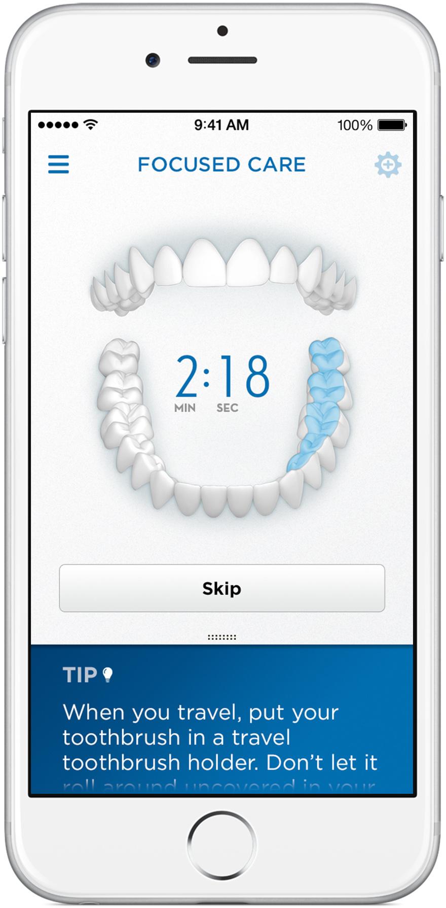 Oral-B app Focused Care